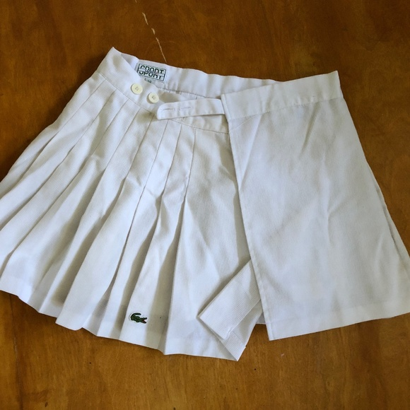 Lacoste Dresses & Skirts - Lacoste pleated tennis skirt (vintage) ♡